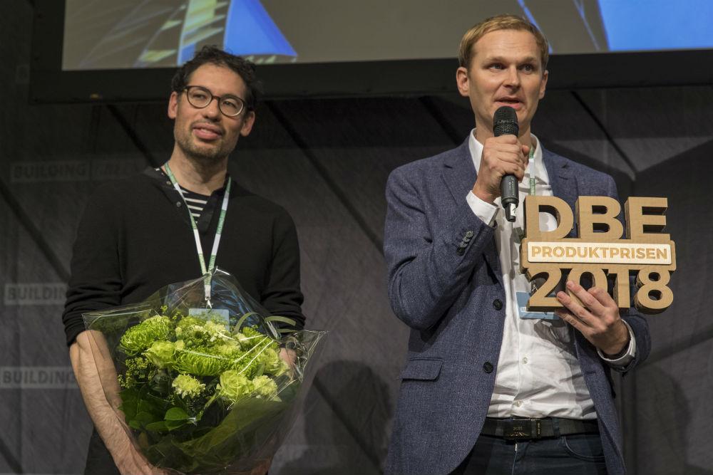 Fischer Lighting Vinder af Det Bæredygtige Element 2018 - Produktprisen